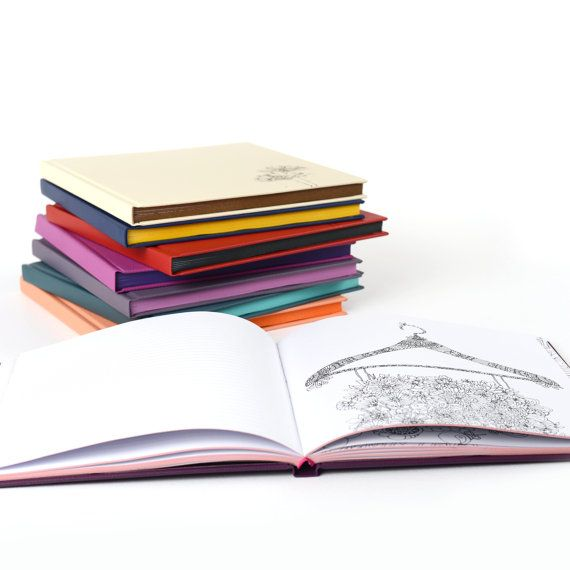 1000 images about inspiring coloring notebooks on for Notebook with colored pages