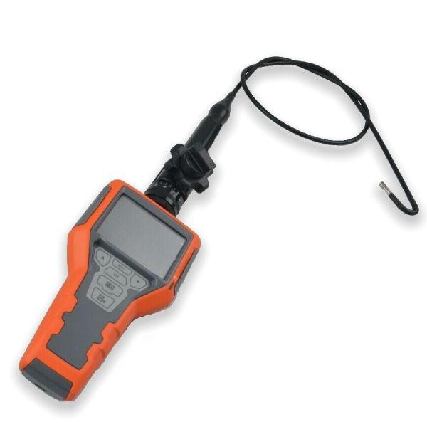 http://www.termometer.se/Handinstrument/Inspektionskamera/Artikulerande-inspektionskamera-med-monitor-och-inspelningsfunktion-3m.html  Artikulerande inspektionskamera med monitor och inspelningsfunktion, 3m - Termometer.se  Endoskop med styrbart kamerahuvud justerbart upp till 270 graders betraktningsvinkel. Möjliggör enkel visualisering av trånga,svårnåbara objekt. Mini 5.5mm diameter vattentät kamera med 3m flexibel sond. Ökar synligheten med 3 × zoom kapacitet...