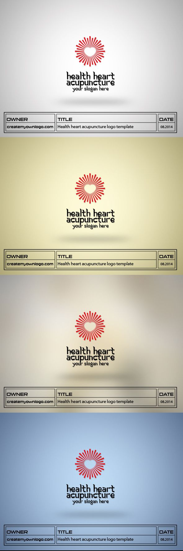 best images about my works logos posts and logo health heart acupuncture logo template for check out the link