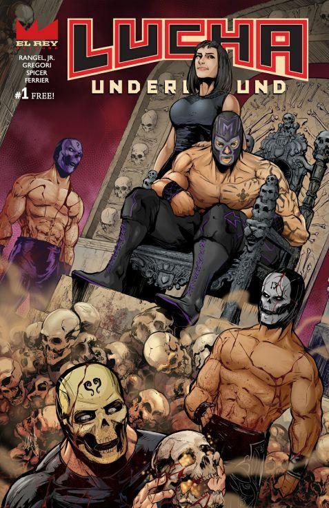 lucha underground comics