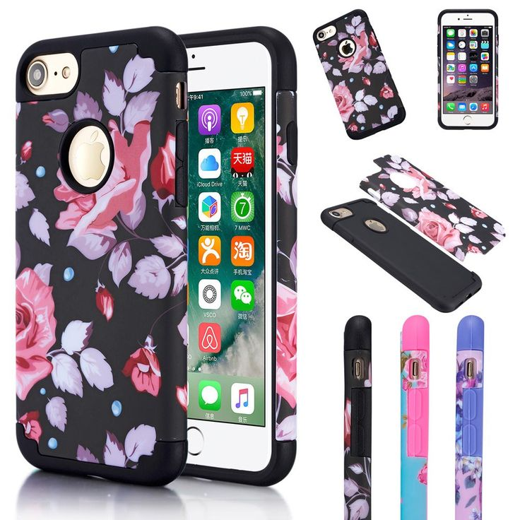 For iPhone 6 6S Plus Shockproof Rugged Hybrid Rubber Matte Hard Case Cover For Apple iPhone 6 Plus 6s Plus //Price: $0.00//     #onlineshop