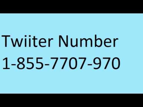Twitter support number- 1 855 7707 790.
