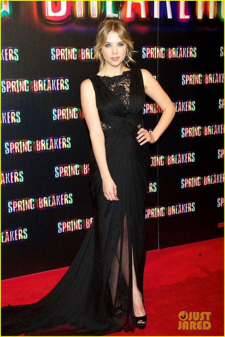 Ashley Benson Spring Breakers | Vanessa Hudgens & Ashley Benson: Spring Breakers Madrid Premiere ...