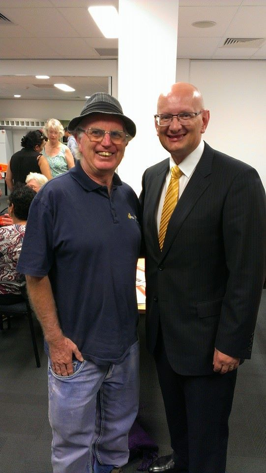 Shayne Neumann MP joins me to show his support for the National Congress of Australia's First Peoples https://www.facebook.com/pages/Shayne-Neumann-MP/102938729823066
