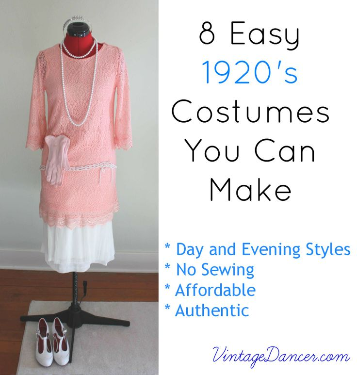 8 Easy 1920s Costumes You Can Make DIY
