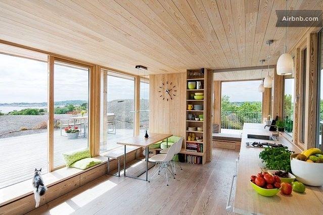 Scandinavian summerhouse oceanview i Larvik
