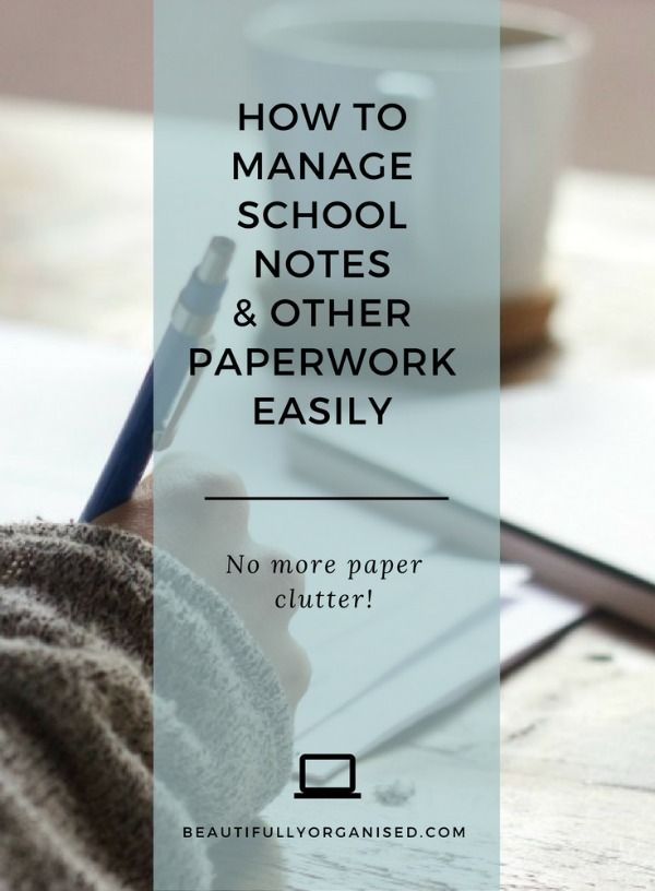 Such a quick and easy way to stay on top of school notes and other paperwork - no missed bill payments, no missed school permission slips, and no more paper clutter at home. LOVE.