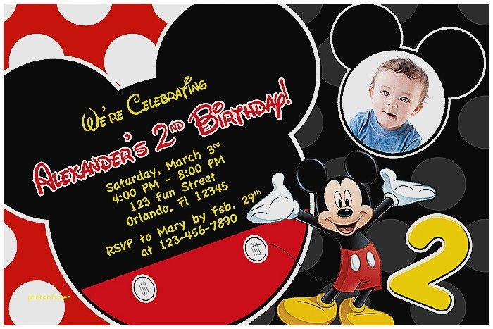 Minnie Mouse Baby Shower Invitations Party City Unique Free Printable Birthday Mickey Of