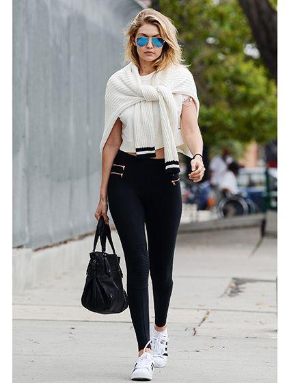 Celebrity Looks - Gigi Hadid on the street in Los Angeles | allure.com