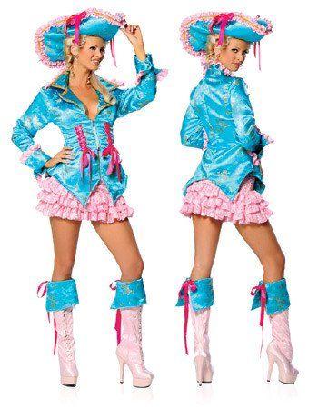 RO1417 Caribbean Captain Fancy Dress Costume