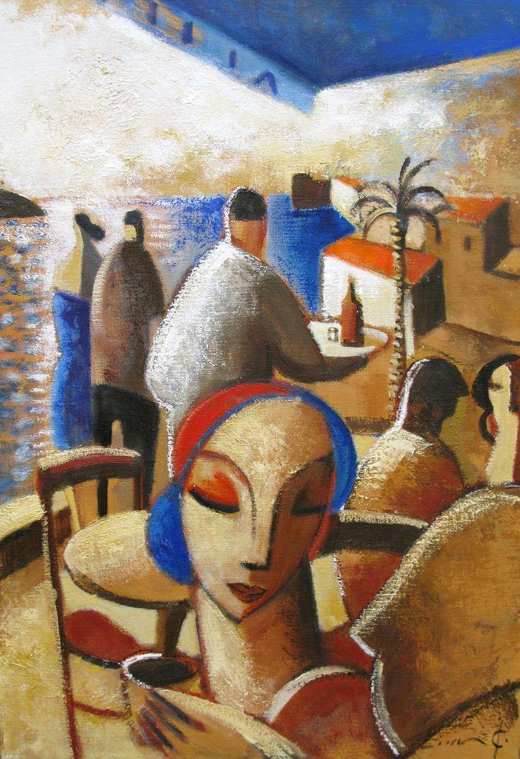 Oil on canvas Past - Didier Lourenço