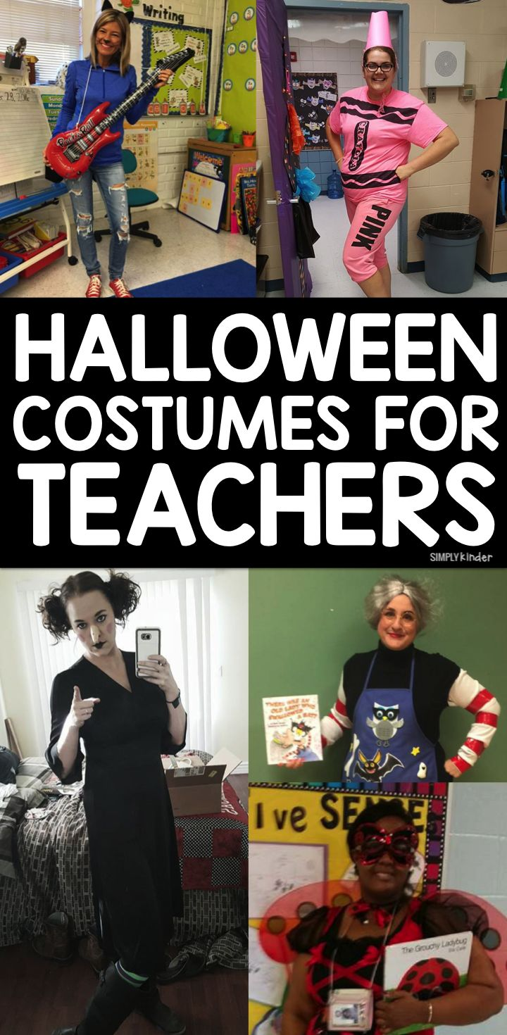 Need some easy and appropriate costume ideas for Halloween? Here is a great roundup of spooktacular Halloween costumes for teachers!