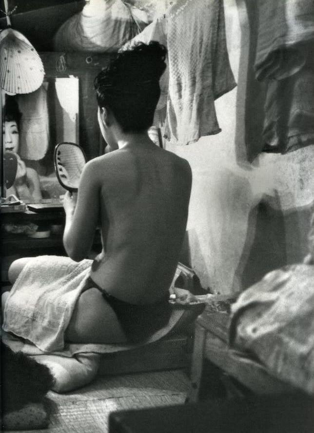 by Werner Bischof. Tokyo, Japan