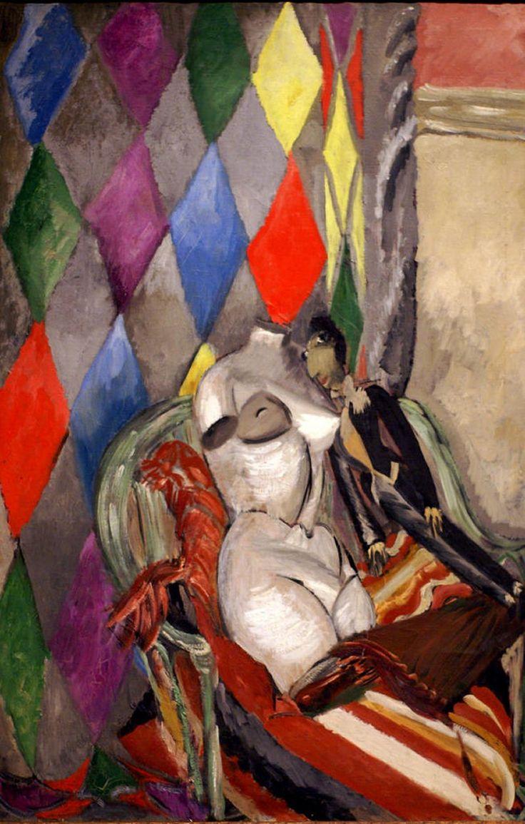 Arlequín (1928) Sigrid Hjertén