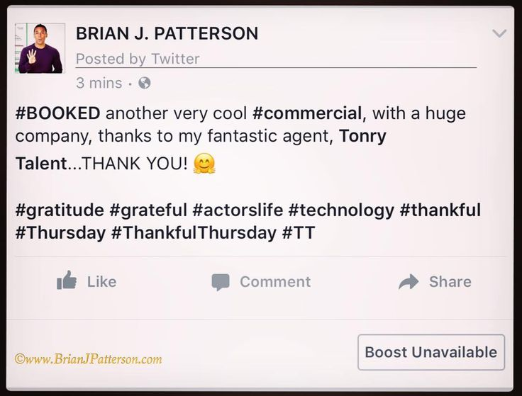 BOOKED!!!  Just got word that I'm booked on another two day commercial shoot for a another HUGE company thanks to my spectacular agent TonryTalent. SOOO grateful for them!   #iLoveMyJob #gratitude #work #commercial #actors #onset #behindthescenes #TagsForLikes #bts #workingactor #actor #tv #setlife #technology #photooftheday #hollywood #filming #financial #lawofattraction #statistics #passion #powerofintention #thursday #believe #actorslife #data #marketing  CONNECT WITH ME -  Twitter…