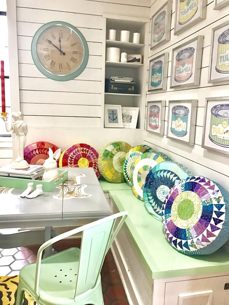 Pillows from New York Beauties & Flying Geese (April 2017)