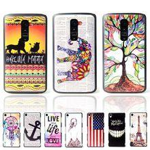 Ultra delgado de la marca patrón de dibujos animados búho dura plástica mate volver Case para LG G2 Mini D410 D620 cubierta protectora del teléfono celular bolsas(China (Mainland))