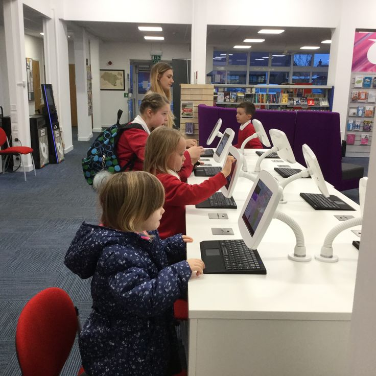 Bishops Cleeve Library gadget bar