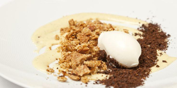 Christoffer Hruskova dispels the myth that porridge is boring with a highly innovative millet porridge recipe