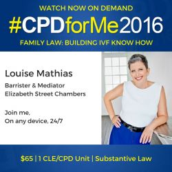 #Auslaw #IVF Legal Update $65 On-Demand Watch Now http://bit.ly/CPD-IVF-KnowHow @louise_mathias Substantive Law