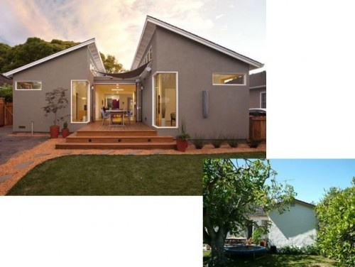 Before And After Ranch House Remodel Pinterest