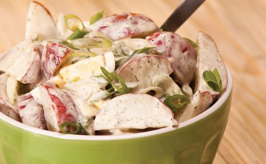 Epicure's Lemon Dilly Potato Salad Madeover Recipe