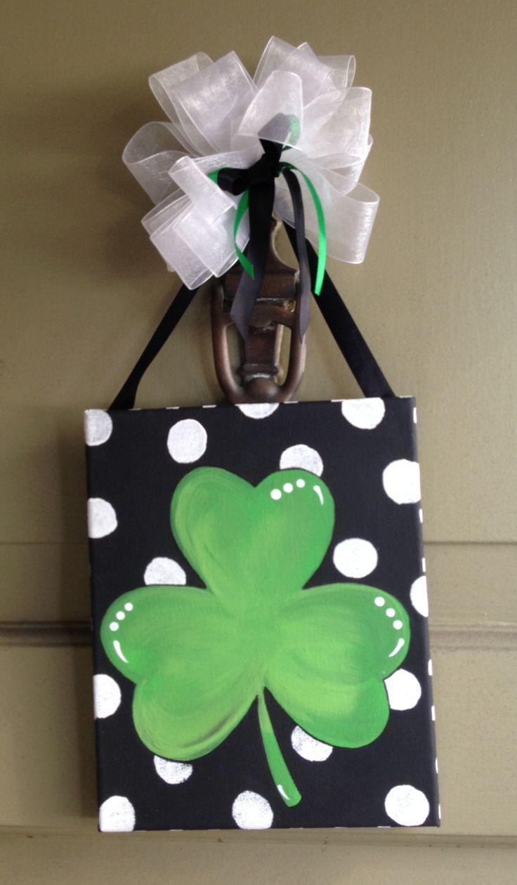 St. Patrick's Day Door Decor