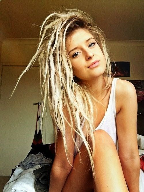 dreads. Ive so wanted to do it but its such a huge commitment! Idk if I could ever be ballsy enough to do it...