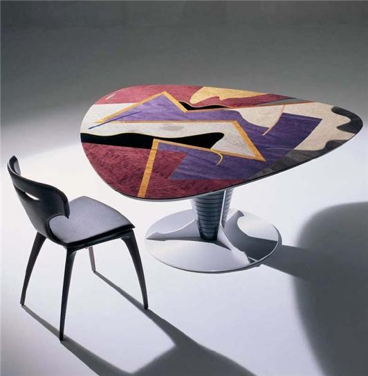 INFINITY TABLE and SOPHIE CHAIR