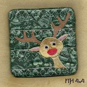 Free Embroidery Design: Reindeer Poop