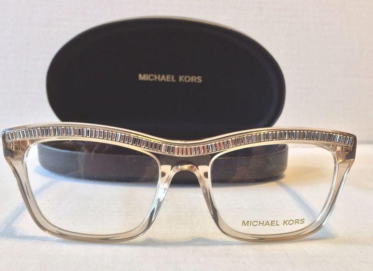 Brand New Michael Kors Eyeglasses Mk876 Beige Clear 215