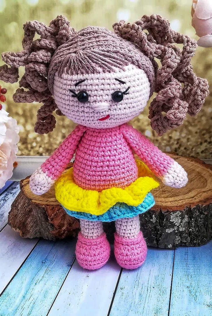 Resultado de imagen de nines amigurumi pinterest | Crochet doll ... | 1080x726