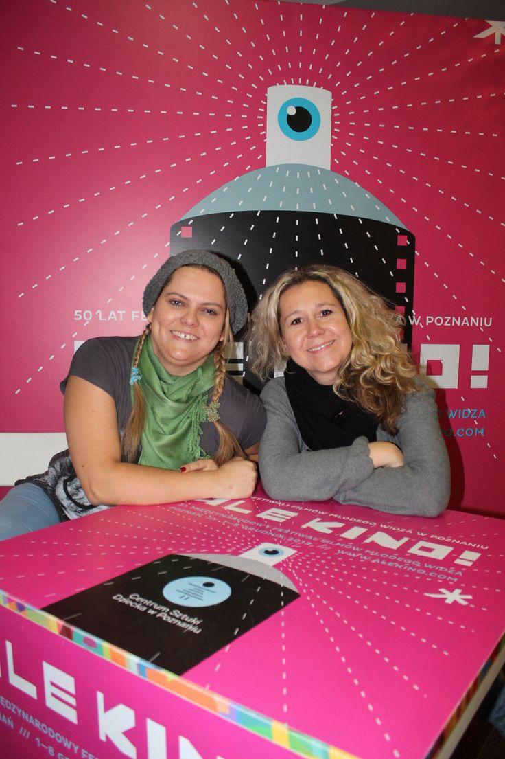 Programme department Jaroslava Hynstova and Marketa Pasmova