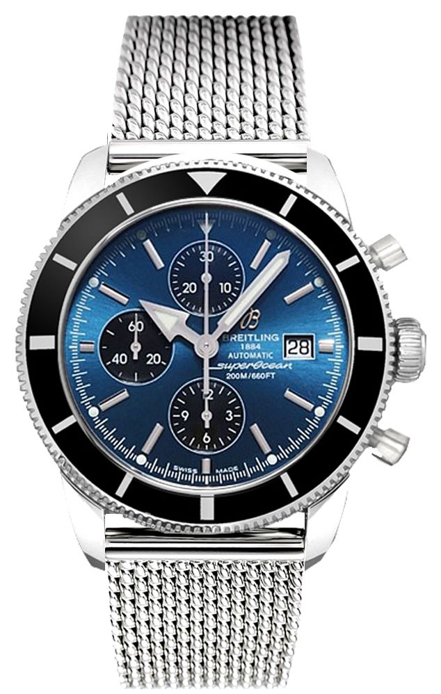BREITLING SUPEROCEAN HERITAGE 46 CHRONO Men's WATCH - Watch Direct