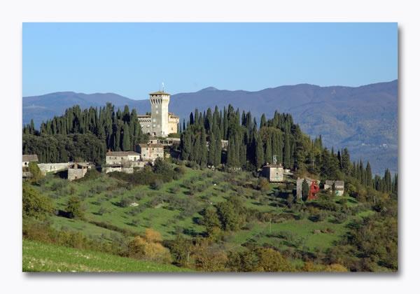Castello del Trebbio, Tuscany, Italy