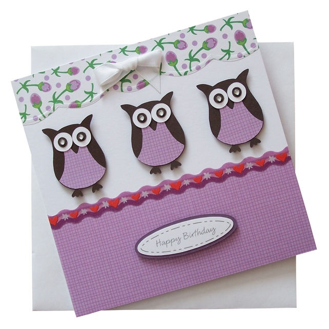 Stampin' Up! Owl Punch, but I don't believe that this is any of the DSP. And, I luv this color!
