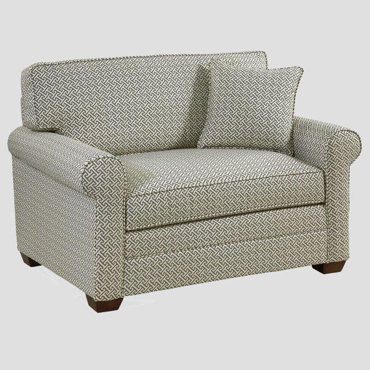 Bedford chair and a half twin sleeper loveseat sleeper
