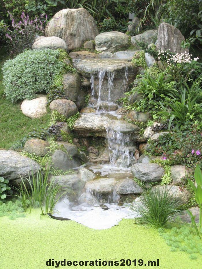 Baue Einen Wasserfall Im Garten Und Geniesse Die Harmonie Der Natur Einen Garden Garten Genie Harmonie Natur Wasse Wasserfall Garten Garten Wasserfall