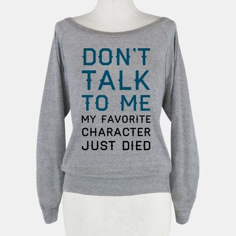 """I NEED THIS!! Maybe a little too much spoiler, but definitely better than """"I just killed my favorite person!!"""""""