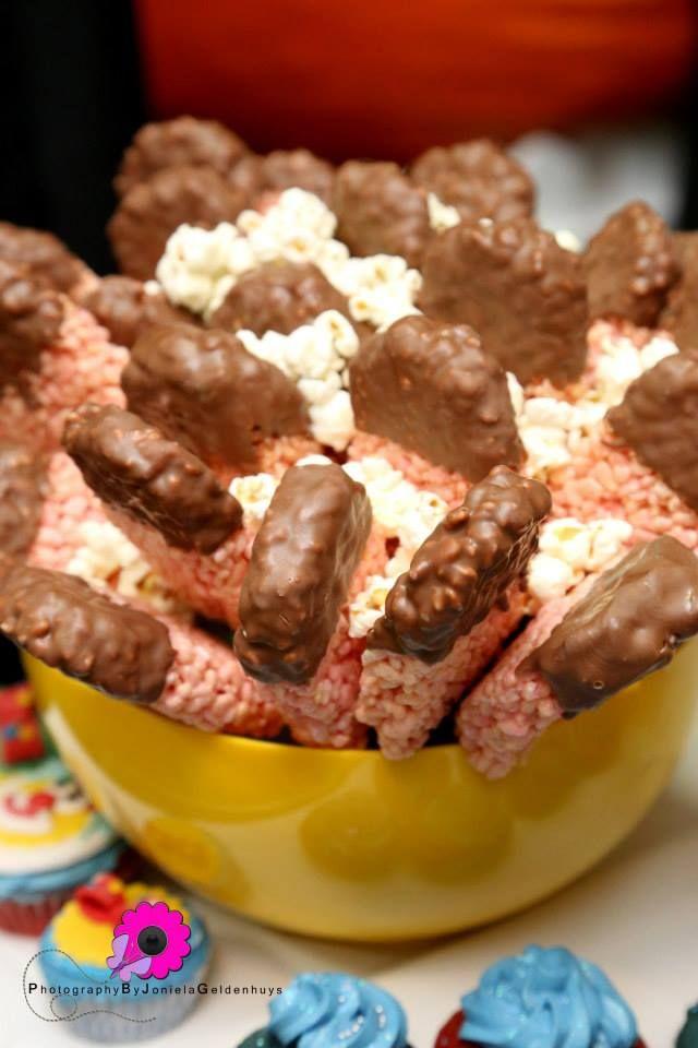 Rice Crispy Ice Cream Lollipop Treats