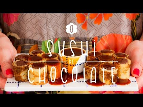 Sushi de Crepe com Mousse de Chocolate | A Doce Cozinha de Dani Noce #06 - YouTube