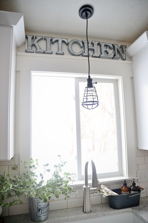 10 Kitchen And Home Decor Items Every 20 Something Needs: Best 25+ Over Sink Lighting Ideas On Pinterest
