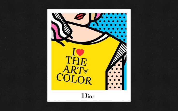 Dior illustrations for Snapchat Geofilters on Behance