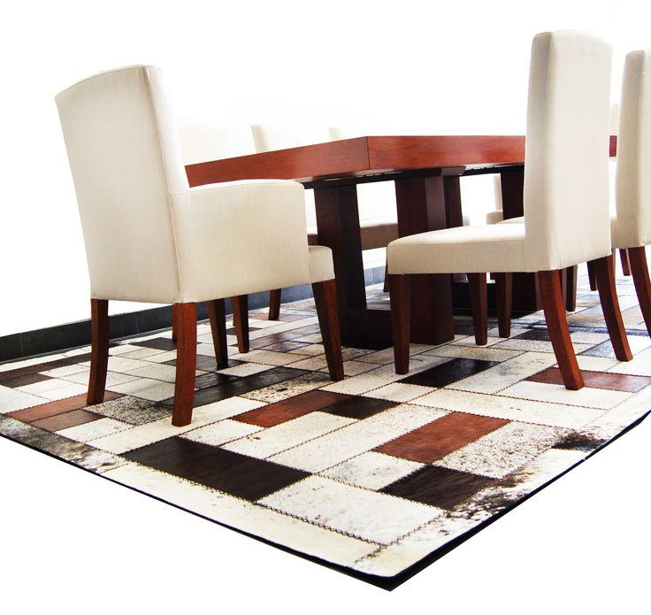 Tapetes en cuero para el hogar, diseños exclusivos