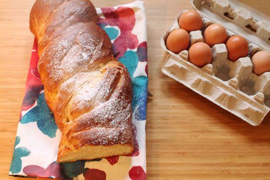 Brioche bread: biscottirosaetralala