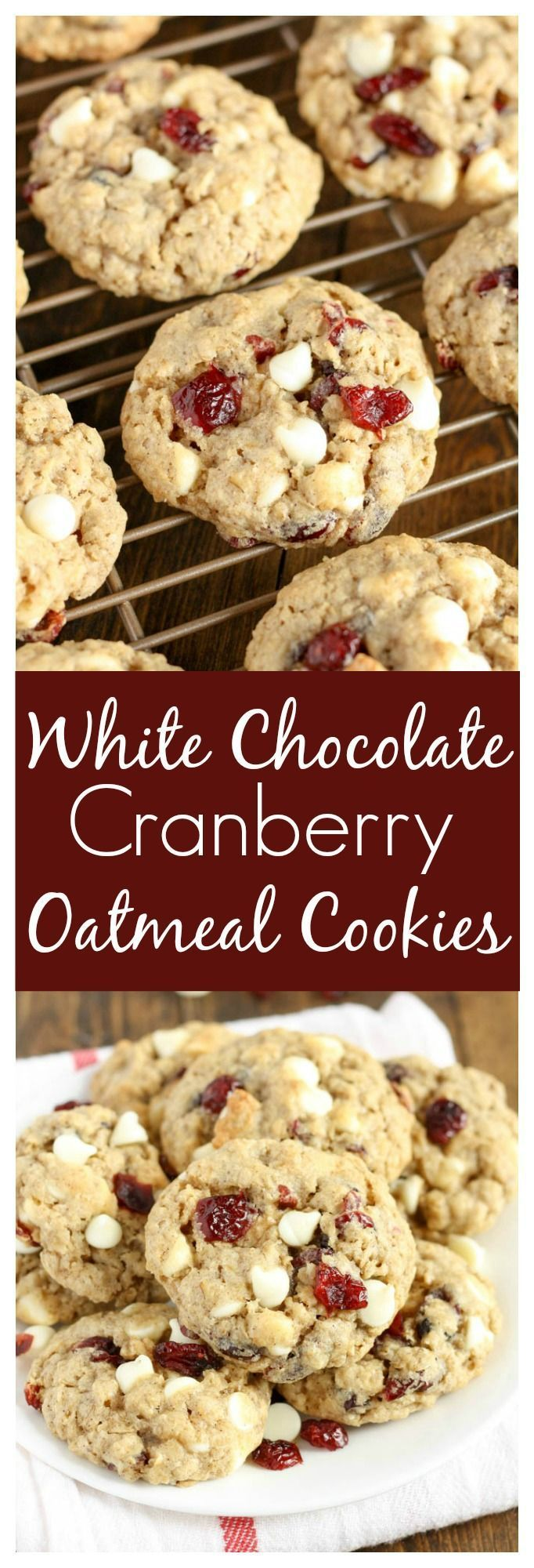 ... Cranberry Oatmeal Cookies on Pinterest | Oatmeal, Cookies and