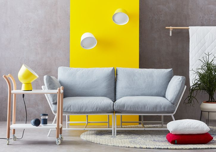 IKEA PS 2017 | Sofas, lamps, carpets, blankets, pillows, tables and even mugs and self-watering pots. Flexible and easy to move, the IKEA PS 2017 furniture collection has everything you need for your home. And your future one. And the one after that.