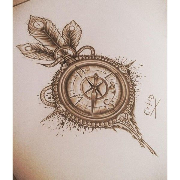 Tattoo Illustrations by Edward Miller ❤ liked on Polyvore featuring accessories and body art