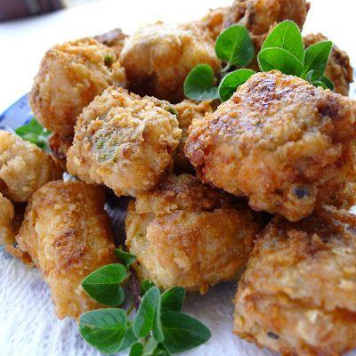 Salt Cod Fritters, a classic Spanish tapa