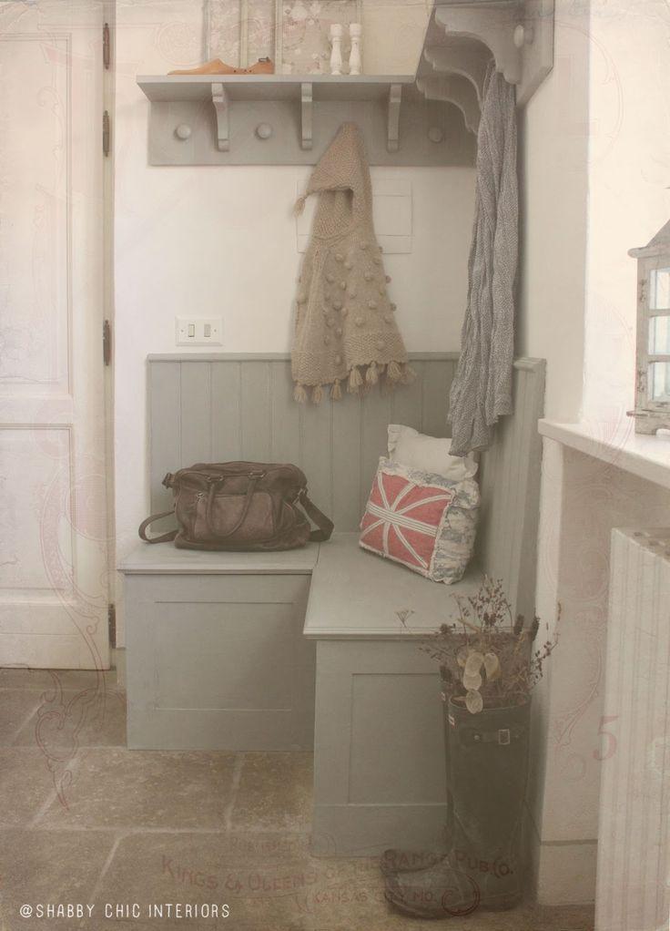 1000 images about idee per la casa on pinterest shabby for Idee semplici di mudroom